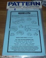 VINTAGE TOY PLANS ~ Cars Trucks Trains ~ Ferry Tug Sail Boat Projects ~ by PLD
