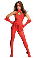 THE FLASH AVENGERS SEXY ADULT WOMENS LICENSED FANCY DRESS HALLOWEEN COSTUME