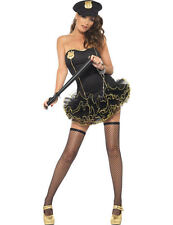 Police Woman Outfit Sexy Cop Uniform Ladies Fancy Dress Hen Night Party Costume