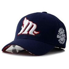 Men/Lady Letter M Embroidery Caps Snapback Baseball Cap Peak Hat Sun Hats  T98