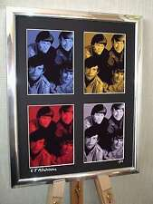 THE MONKEES LTD EDITION SIGNED POP ART CANVAS