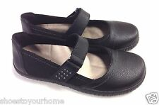 Orthaheel Sara Leather Mary-Jane Flats w/ Arch Support