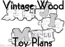 VINTAGE WOOD TOYS ~ Rocking Horse ~ Puzzles ~ Doll Cradle ~ Games PLANS ~ by PLD