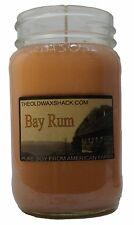 Bay Rum - Pure Soy Candle - Hand Poured In Mason Jar