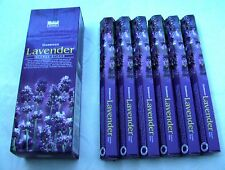 CHOOSE YOUR SCENT 120 DARSHAN INCENSE STICKS = 6 HEXAGONAL PACKS