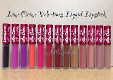 Lime Crime Velvetines Matte Liquid Lipstick Lip Stain New Choose your shade
