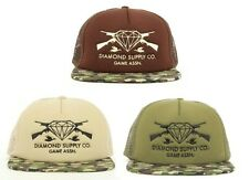 NEW Diamond Supply Game Assn. Guns  Camo  Snapback Trucker Hat Cap