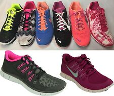New Nike Women's Shoes Free TR Training Fit 3 Print Black Pink Blue Green 5.0