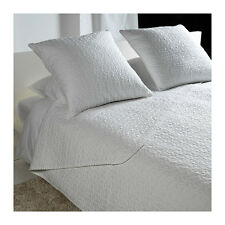 new ikea ALINA Bedspread and cushion cover, white