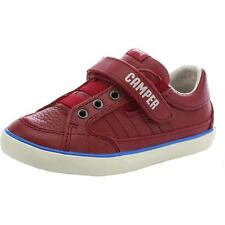 Camper Pelotas Red Leather Casual Shoes