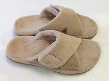 Orthaheel Relax Slipper w/ Arch Support Med/Wide Width PREOWNED