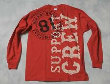 "Hells Angels Tucson - ""SB Bullet 81 Support"" - Red Long Sleeve T-Shirt (S-4XL)"
