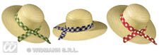 STRAW FARMERS DAUGHTER HAT / ELLIE MAY CLAMPETT CARNIVAL FANCY DRESS ACCESSORY