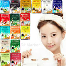 Facial Mask Skin Care Face Masque Sheet Pack Essence Moisture Korea Cosmetics