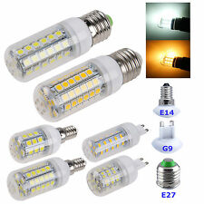 E27/E14/G9 3W 3.5W 4W 6W 7W SMD Light LED Corn Bulb Pure/Warm White 220V-240V