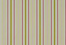 Ashley Wilde Ellacombe Stripe 100% Cotton Curtain / Blind Fabric - Watermelon