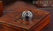 Retro Titanium Steel Ring For Harley Davidson Special Collection Ring