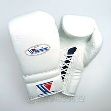 Winning Boxing Gloves Lace Up Professional Type MS-400 12 oz From Japan