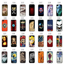 Painted Various Pattern Plastic Hard Back Skin Case For Apple iPhone 4 4S 5 5S