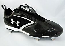 Under Armour Bomber Low ST ADULT Metal Baseball Cleats Shoes, 1097002-001