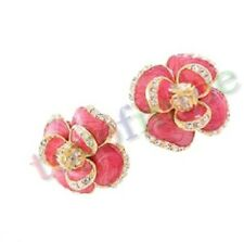 Korea Jewelry Fashion Diamond Earrings Cascading Flowers Earrings best match new
