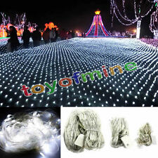 1X 200 2Mx3M LED Net Fairy Waterproof Light For Christmas Wedding Party EU Plug
