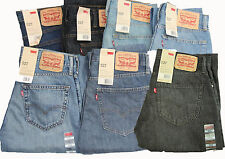New Levi's Men's Jeans 527 Boot Cut BootCut Tapered 30 32 33 34 36 38 40