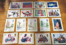 Royal Mail Post Office Stamp Postcards - Various Cards to Choose from. List 1