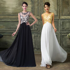 Classy Vintage Long Prom Dress Party Bridesmaid Womens Ball Gown Evening dresses