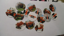 Pre Cut One Inch Bottle Cap Images!  Red Tractor Free Shipping