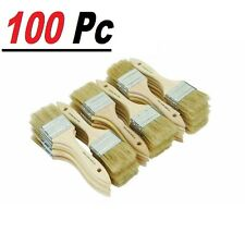 Set of 100 Chip Brush Brushes Perfect for Adhesives Paint Touchups