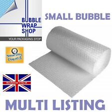 SMALL BUBBLE WRAP PACKAGING REMOVALS STORAGE 300 500 750 1000 1500 X 100M