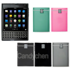 Soft Silicone TPU Gel Back Case Cover Skin +LCD Film For BlackBerry Passport Q30