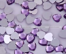 2000 8mm Heart  Diamond Confetti Wedding Party Acrylic Decoration Table Scatter