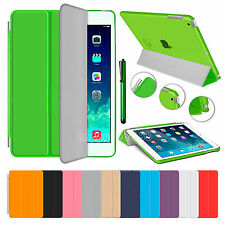 Slim Magnetic Smart Cover Leather Stand Case for New Apple iPad 5 iPad Air 2013
