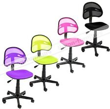 Colorful Faux Mesh Executive Swivel Computer Desk Office Chairs Home Furniture