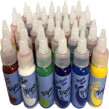 Tattoo Ink Brightest  Colours 12%OFF Boom Smooth Tattoo Ink Triple-Mixed Colour