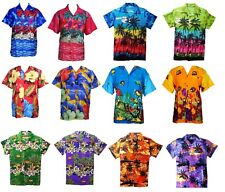 MENS HAWAIIAN SHIRT STAG BEACH HAWAII ALOHA PARTY SUMMER HOLIDAY FANCY S TO XXL
