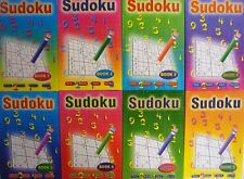 Pocket Sudoku Book (82 Puzzles Easy to Very Hard) Free Uk Postage