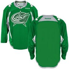 Columbus Blue Jackets St. Patricks Day Reebok Officially Licensed NHL Jersey,