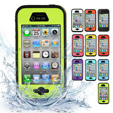 Waterproof Shockproof Dirt Dust Proof Durable Hard Cover Case For iPhone 4 4S 4G