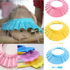 Adjustable Baby Kids Shampoo Bath Bathing Shower Cap Hat Wash Hair Shield CATUS