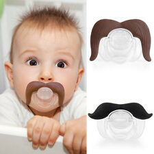 Hot Baby Infant Pacifier The Cowboy The Gentleman Binkie Mustache Beard