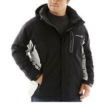 Free Country men's Jacket Midweight Colorblock polyester black size S, 4XL NEW