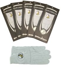 New 4 Pack Genuine 100% Cabretta Leather Golf Glove Golden Eagle Up to XXX Large
