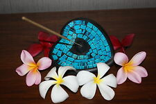 NEW Balinese Mosaic Heart Incense Holder - Bali Incense Holder - MANY COLOURS
