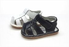 Brand New Infant/Toddler Genuine Leather Sandals Size 1 - 4
