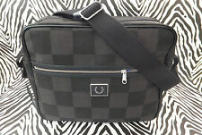 Genuine FRED PERRY Men's L4318 FPLW Collection Shoulder Messenger Bag BNWT-RP£95