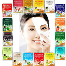 Facial Mask Sheet Face Skin Care Moisture Essence Collagen Pack Korean Cosmetics