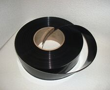 64mm x 4mil BLACK Layflat Heat Shrink PVC - 5ft, 10ft, 25ft - PVC Battery Wrap